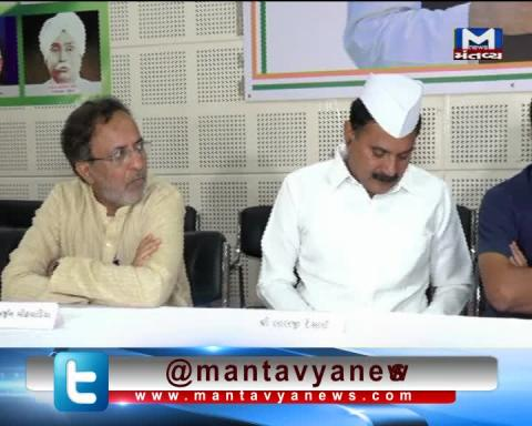 Ahmedabad: Congress' Lalji Desai's attack on the statement of BJP's Subramanian Swamy