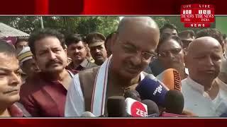 जौनपुर में आर एस एस के पूर्व प्रचारक रमाशंकर के निधन पर श्रद्धांजलि देने पहुंचे केशव प्रसाद मौर्य