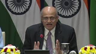 Media Briefing by Foreign Secretary on upcoming visit of Prime Minister to Japan