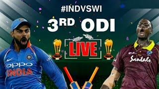 India Vs West Indies 3rd Odi Live Streaming Match Video & Highlights
