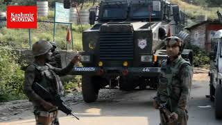Militants on Friday attacked the Army's 34RR camp in Shopian Shouth Kashmir