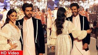 Kiara Advani & Kartik Aaryan Ramp Walk At Manish Malhotra X Wedding Junction Festive Show