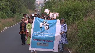 Water woes at Kadamba plateau, Residents Protest On The Streets