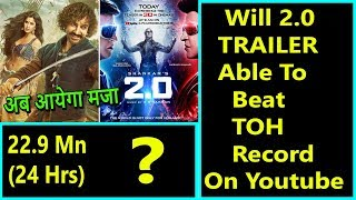 Will 2.0 Trailer Beat Thugs Of Hindostan Trailer Record In 24 Hours On Youtube?