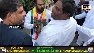 Chandrayngutta Congress | Abdul Sattar Padyatra With Hundreds Of People - DT News
