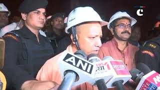 UP CM Yogi Adityanath conducts midnight inspection of developmental works in Varanasi