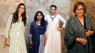 Sonam Kapoor At Screening of Film Nil Battey Sannata