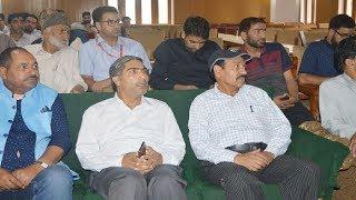 Launch event of The Kashmir Radar online news portal