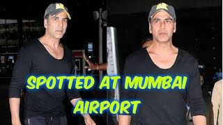 Akshay Kumar Spotted on Mumbai Airport
