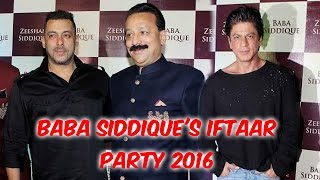 Baba Siddique's Iftaar Party 2016   Salman Khan   Shah Rukh Khan   Bipasha Basu