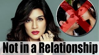 Kriti Sanon denies rumours of dating Sushant Singh Rajput