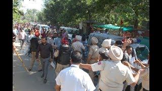 ਭੜਕੇ ਲੋਕਾਂ ਨੇ ਮੀਡੀਆ ਤੇ ਪੁਲਿਸ 'ਤੇ ਵਰ੍ਹਾਏ ਡਲ਼ੇ | JanSangathan Tv