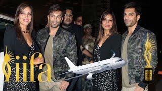 Bipasha Basu & Karan Singh Grover Leaving For IIFA Awards 2016
