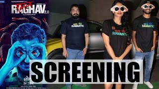 Special Screening of Raman Raghav 2.0 with Nawazuddin Siddiqui, Anurag Kashyap, Vicky Kaushal