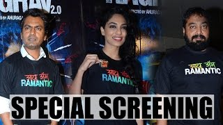 Nawazuddin Siddiqui, Anurag Kashyap and many Celebs at Screening of Raman Raghav 2 0