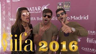 Bipasha Basu & Karan Singh Grover arrive at Madrid for IIFA Awards 2016