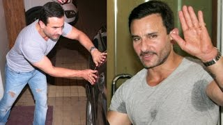 Saif Ali Khan Injured On The Sets Of His Next