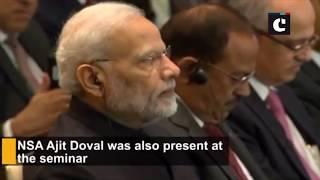 "PM Modi attends ""Make in India: India-Japan Partnership in Africa and Digital Partnership"" seminar"