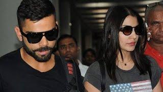 Anushka Sharma & Virat Kohli spotted at Yash Raj Films studio for premiere of 'Sultan'