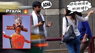 Epic - DUSSEHRA Prank (Bande Ko AAG Lga Rkhi Hai)