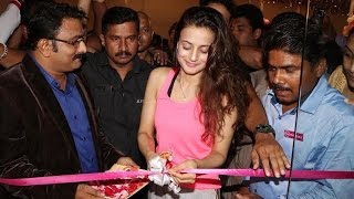 Ameesha Patel at The Launch Of Swiss Gallery & Swiss Laundry