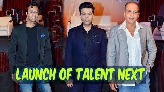 TalentNext Launch | Karan Johar, Prahlad Kakkar, Ashutosh Gowarikar, Salim Merchant