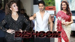'Dishoom': Varun Dhawan and Jacqueline Fernandez On The Sets Of 'So You Think You Can Dance'
