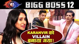 Karanvir Is Forcefully Made VILLAIN By Bigg Boss, Says Teejay | Karanvir's Wife | Bigg Boss 12