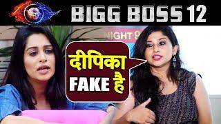 Dipika Kakar FAKE And Not Showing Her Real Face Says Saba Khan After Eviction