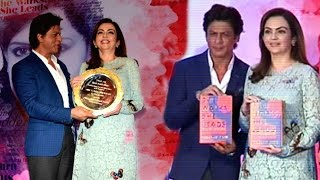 Gunjan Jain's book 'She Walks, She Leads' launched by Shah Rukh Khan