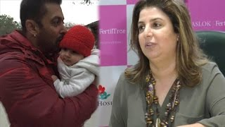 Farah Khan's take on advicing Salman Khan about kids
