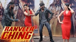 'Ranveer Ching Returns' Launch | Ranveer Singh, Tamannaah Bhatia, Rohit Shetty