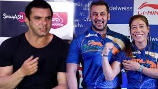 Sohail Khan's reaction on Salman Khan's Rs 1 lakh gesture to Indian athletes