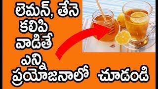 నిమ్మ రసంలో, తేనె కలిపి వాడితే ఎన్ని ప్రయోజనాలో చూడండి | Benefits of Lemon and Honey | Health Tips |