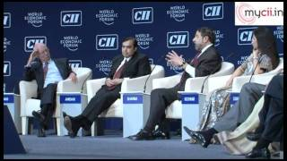 Session on India in the New Global Reality at India Economic Summit,2011