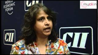 Neelam Chhiber,MD-Industree Crraft Private Ltd at India Economic Summit,2011