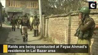 NIA raids businessman Fayaz Ahmad's residence in Srinagar