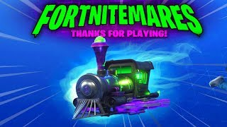 How to Get the (Dark Engine) Glider - Train Glider of Fortnitemares Challenges (No V-BUCKS) Required