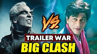Rajinikanths 2.0 And Shahrukh Khan ZERO Will Have A Showdown; Here's How