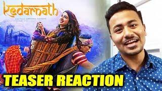 Kedarnath TEASER REACTION | Sushant Singh Rajput, Sara Ali Khan