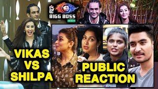 Vikas Gupta And Shilpa Shinde ENTERS Bigg Boss House | PUBLIC REACTION | Bigg Boss 12