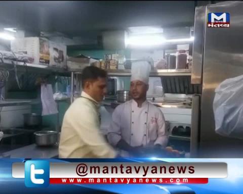 Vadodara: Health Department has conducted raids on Hotels | Mantavya News