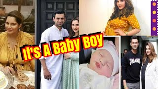 Sania Mirza And Shoaib Malik Blessed With A Baby