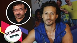 """Tiger Shroff Gives A Classy Reply On Ram Gopal Varma's """"Woman"""" Remark On Him"""