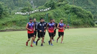 Dabang Delhi KC during Dehradun camp