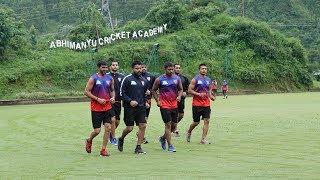 Dabang Delhi KC during Dehradun camp