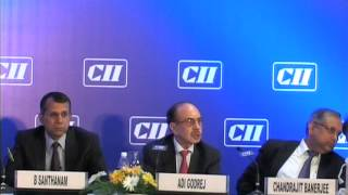 Mr Adi Godrej, President, CII on the need for Political Consensus for Economic Growth