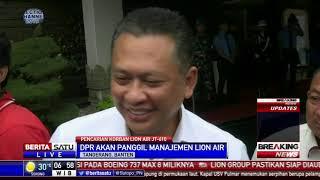 Bamsoet Berencana Panggil Pihak Lion Air
