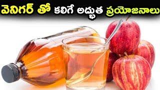 వెనిగర్ తో కలిగే అద్భుత ప్రయోజనాలు | Health Benefits of Apple cider vinegar |