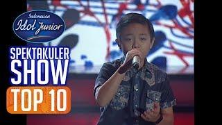 DEVEN - MORI KESE (Aan Saputra) - TOP 10 - Indonesian Idol Junior 2018